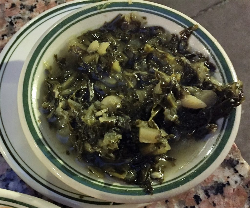 Gumbo Shop turnip greens