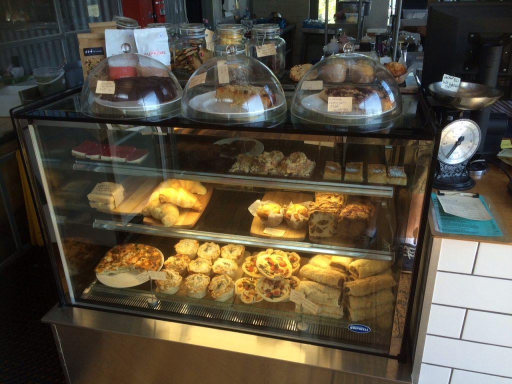 The baking in the cafe at Duck, Duck, Goose and Larder