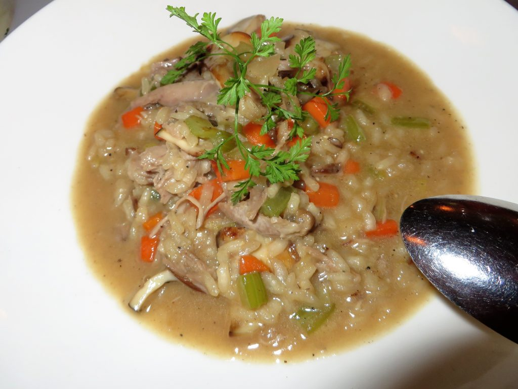 Braised Duck Risotto