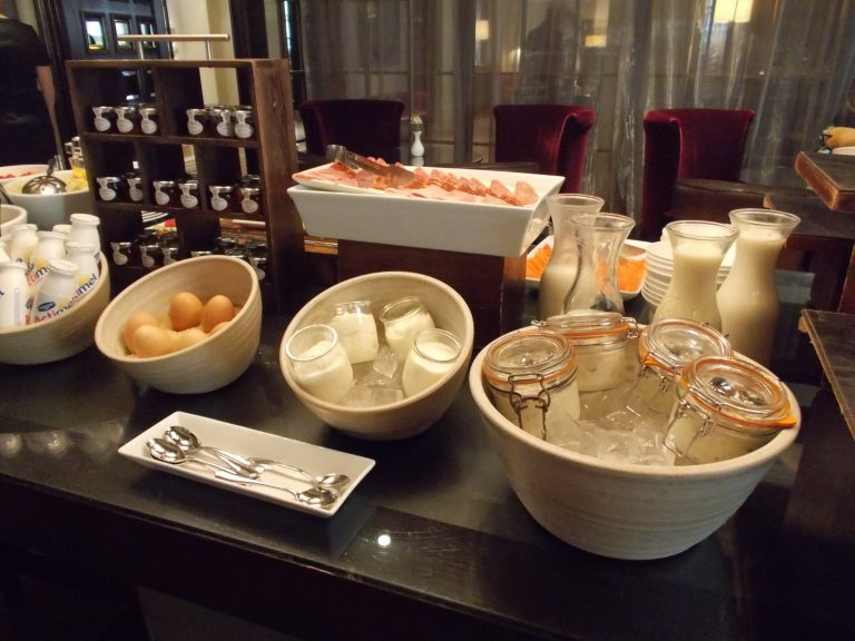Cold Selections Breakfast Buffet The Arch London