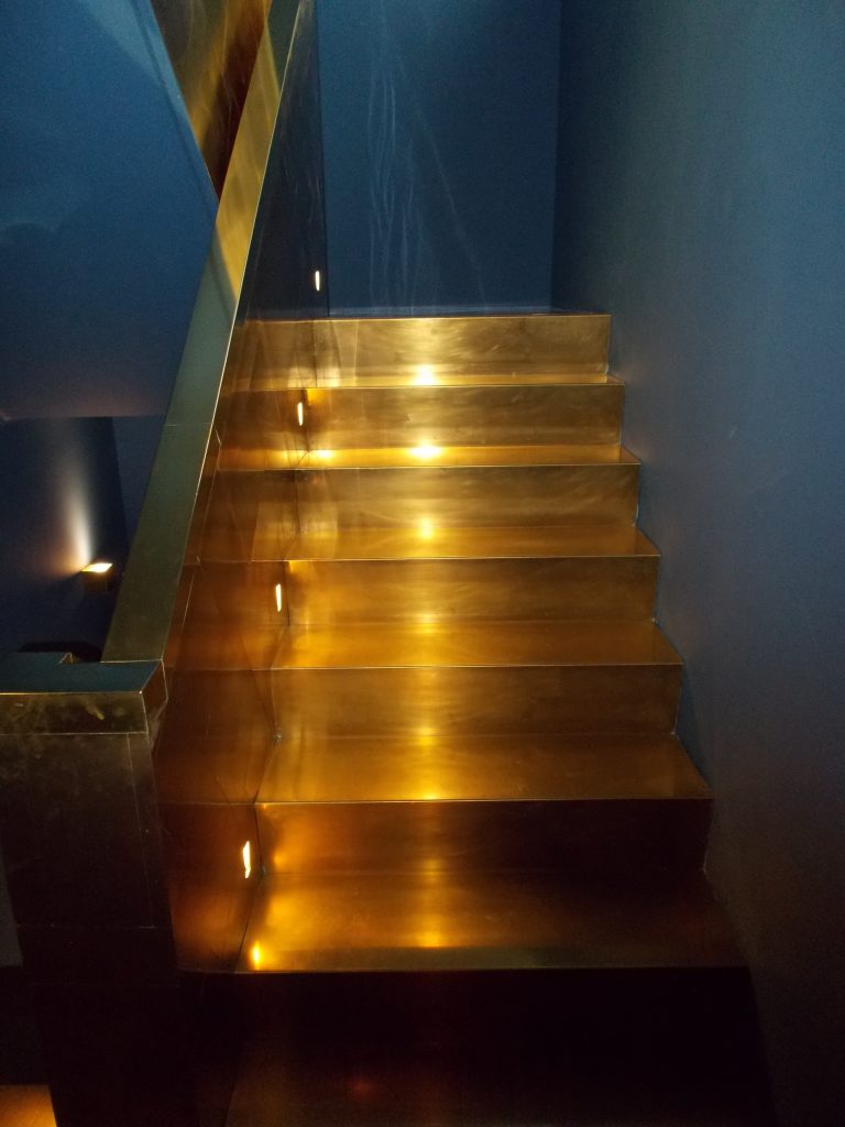 Copper Stairs