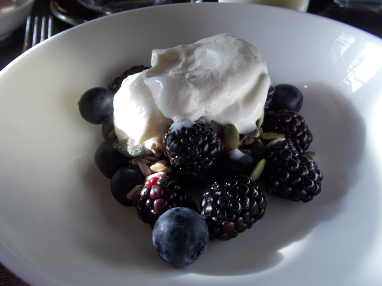 Fresh Berries with Yogurt Breakfast Buffet The Arch
