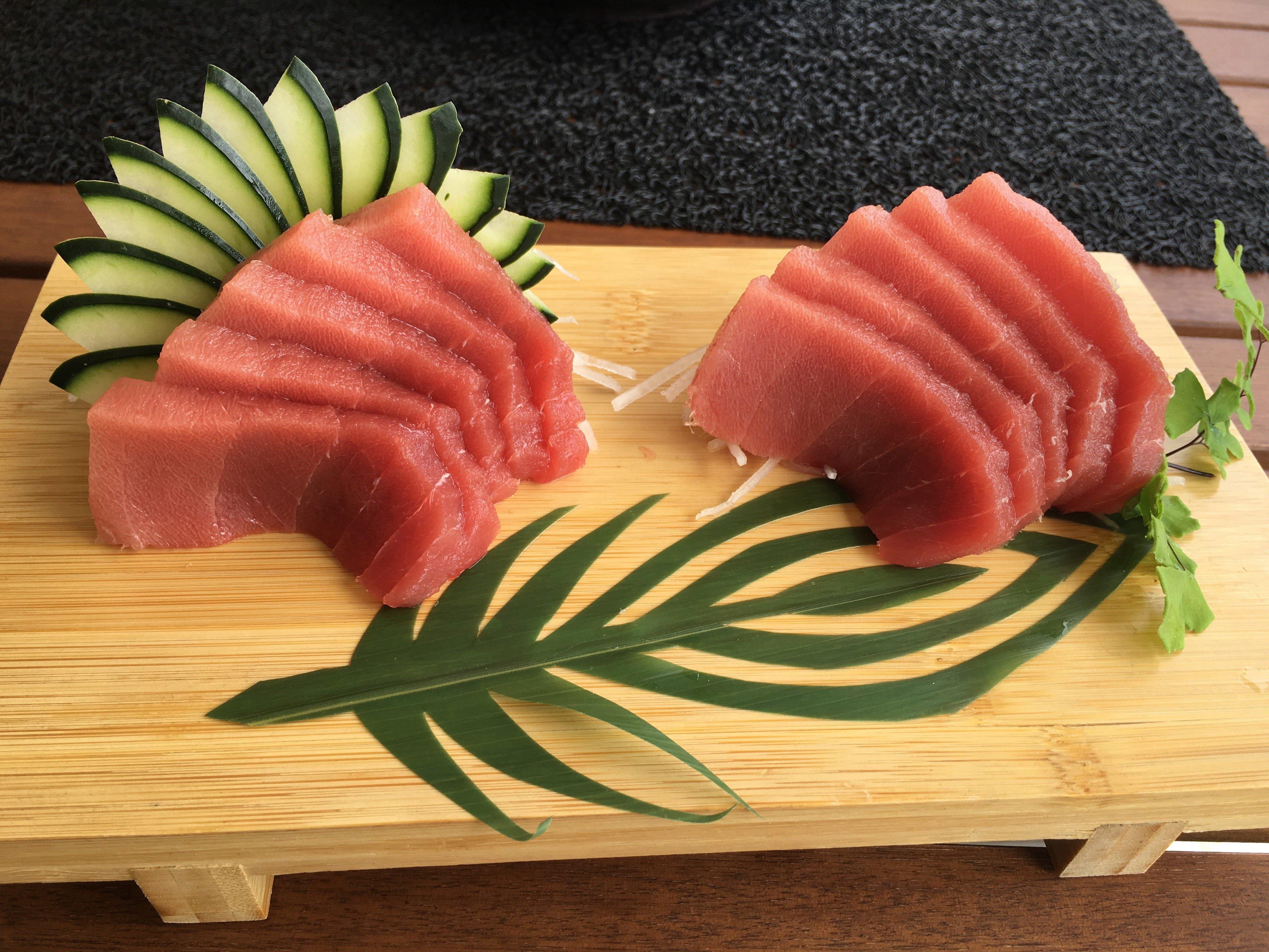 Fresh Tuna Coral a Sushi Concept