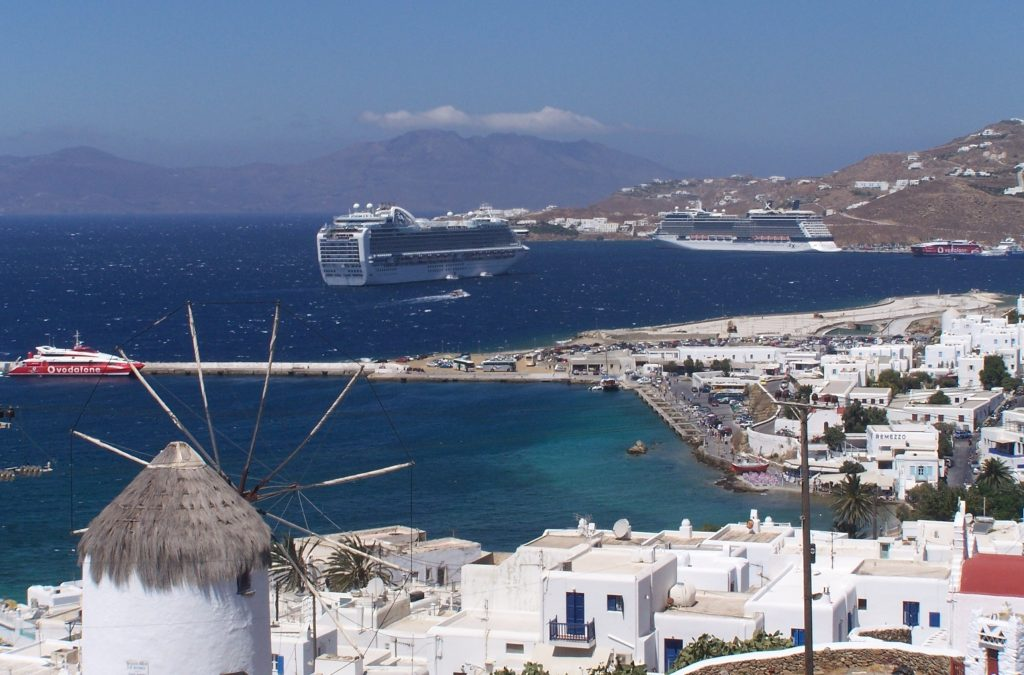 Harbor Views in Mykonos