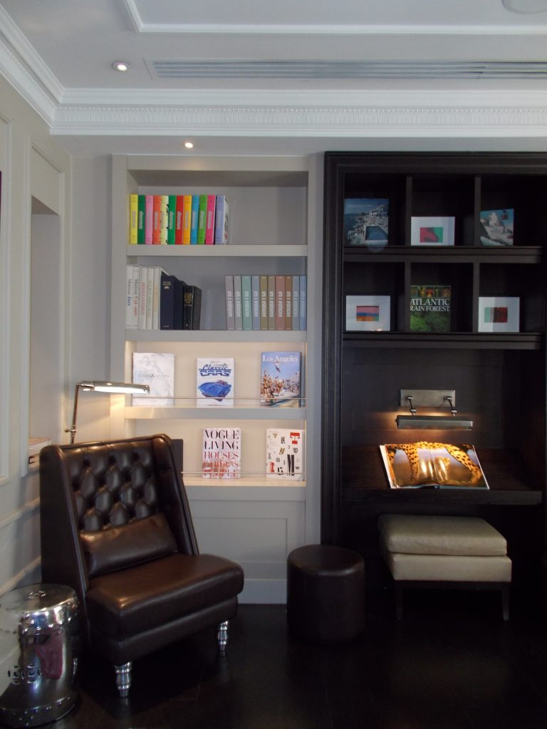 Martini Library Nook