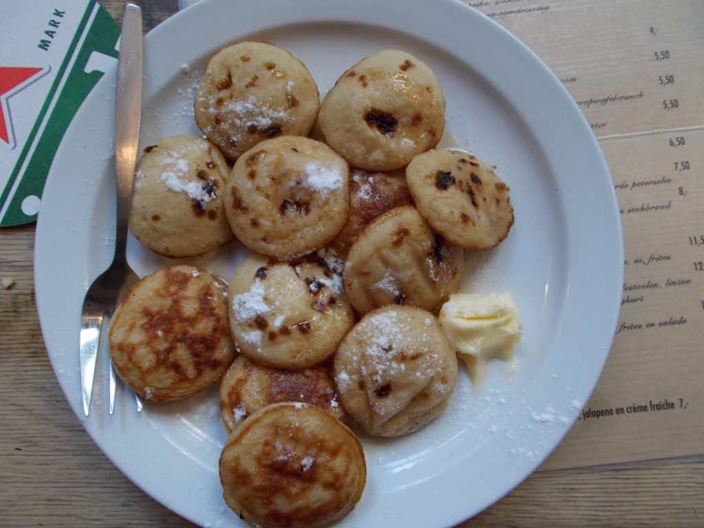 Poffertjes at Cafe de Prins