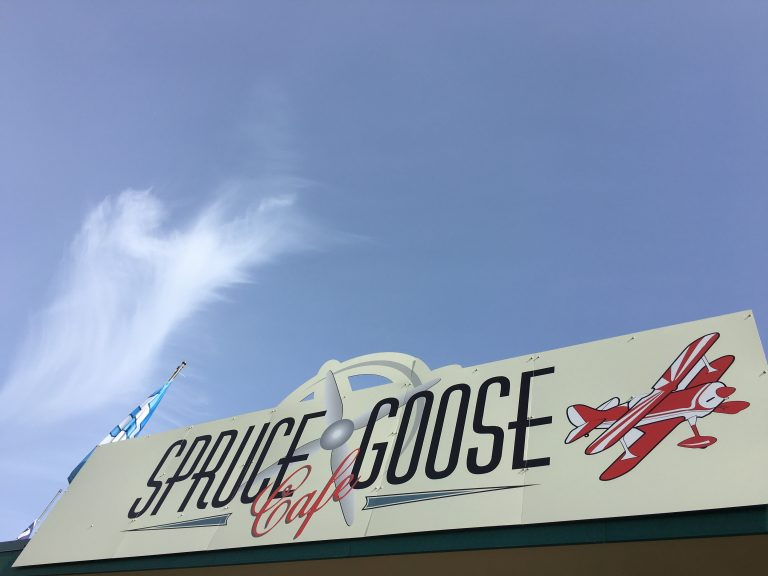 Spruce Goose Cafe at PT Airport