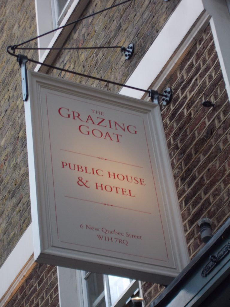 The Grazing Goat London