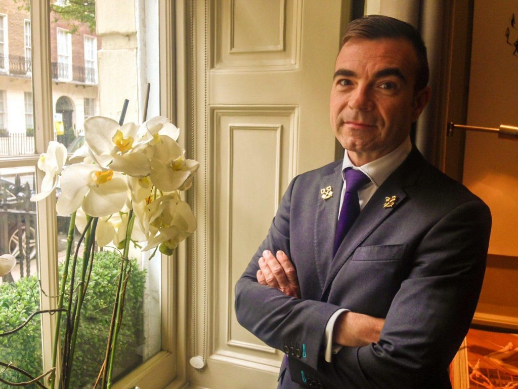 Theo Dubroy Head Concierge at The Arch London