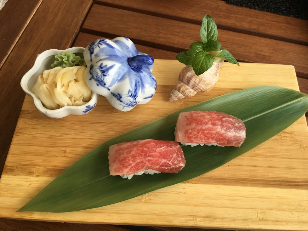Toro w_shell with wasabi inside!
