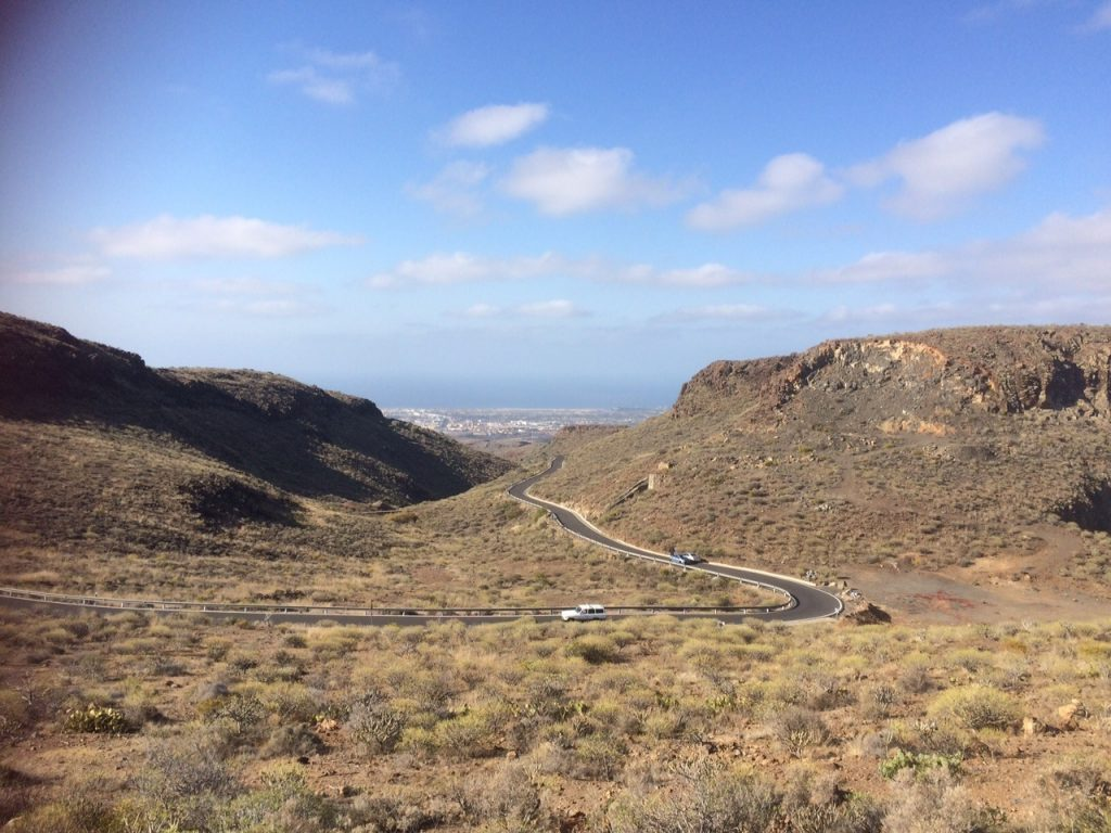 Views from Highway GC-60 Gran Canaria