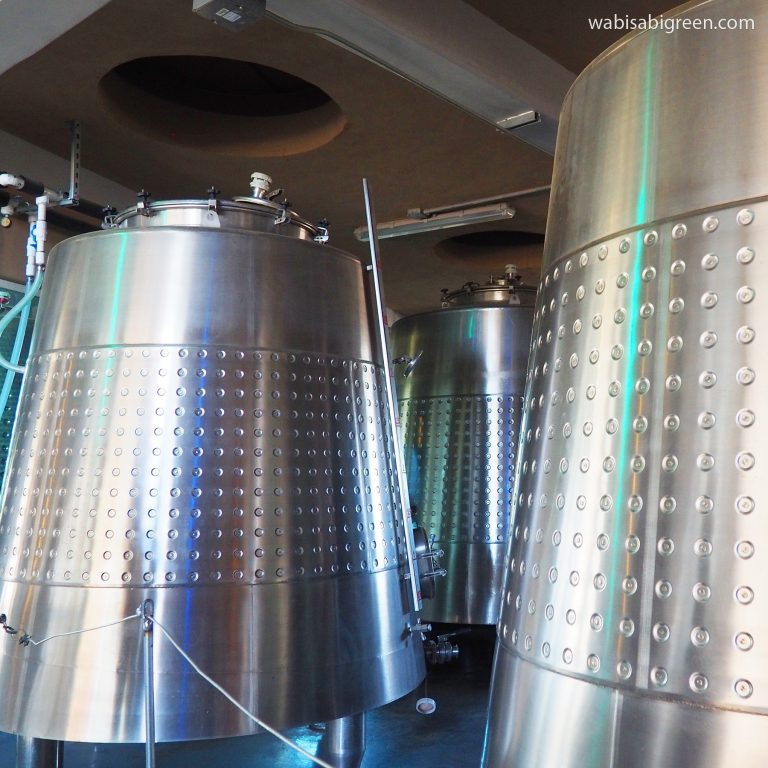 Alximia Winery State of the Art Equipment