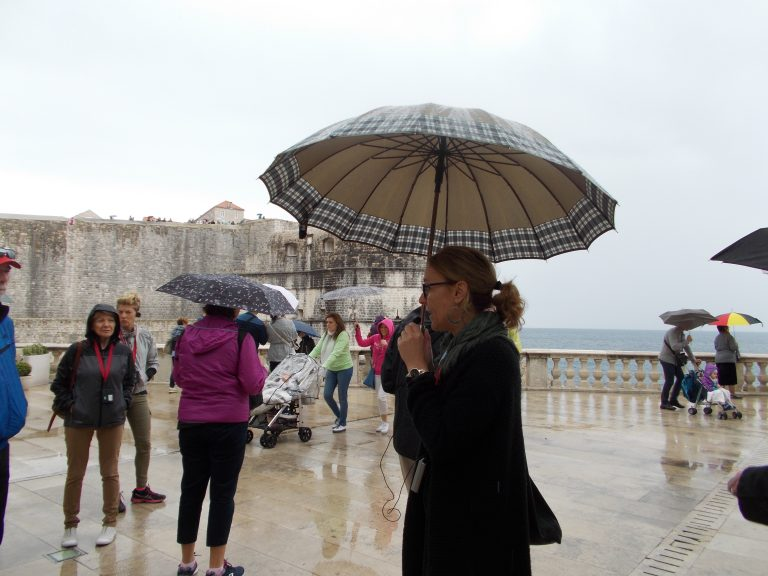 Dubrovnik Guide on Rainy Day
