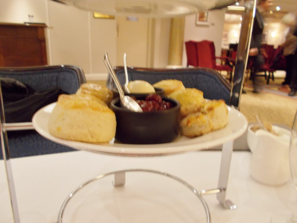 Fresh Baked Scones to Order - Afternoon Tea Lancaster London Hotel