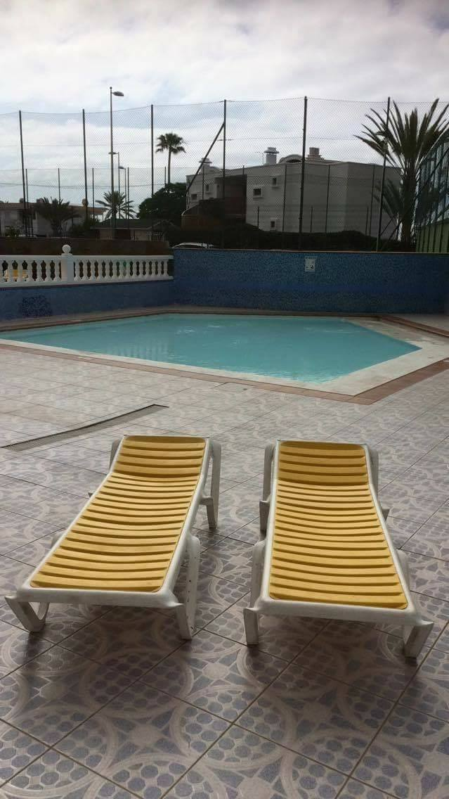 Kiddie Pool Area Apartamentos Las Arenas