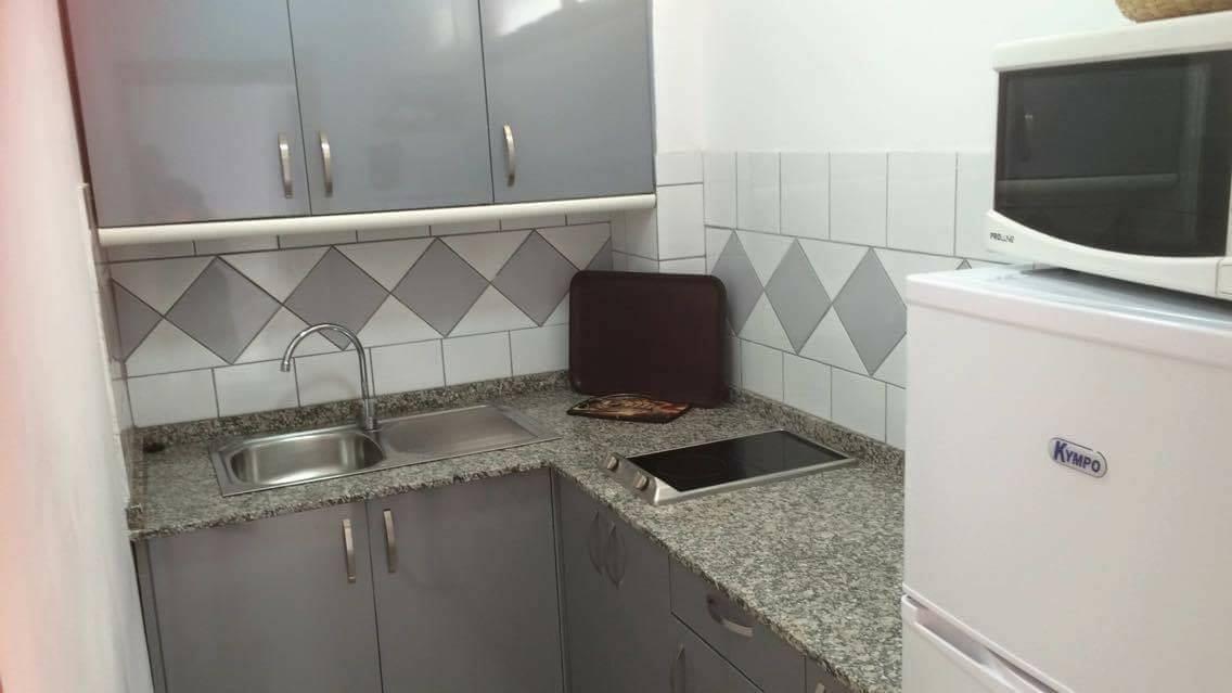 Kitchen Apartamentos Las Arenas