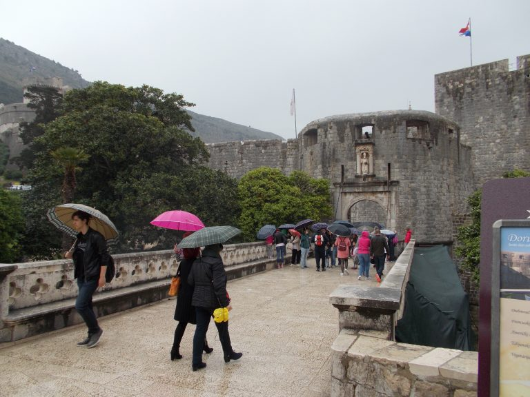 Rainy Day for Dubrovnik Tour