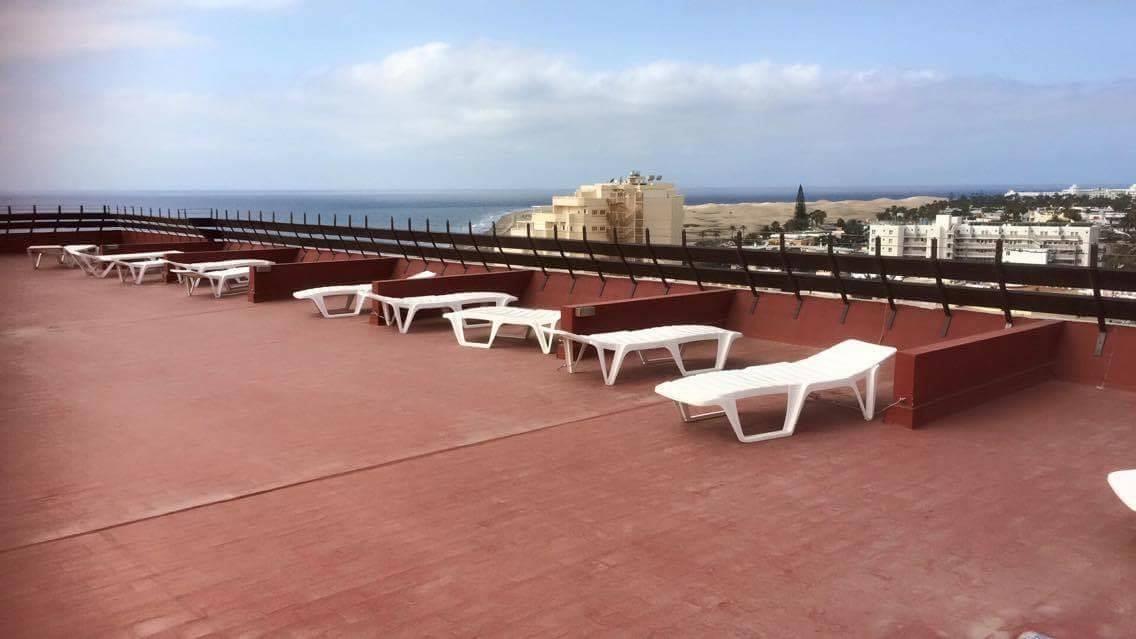 Roof Terrace Apartamentos Las Arenas Playa del Ingles