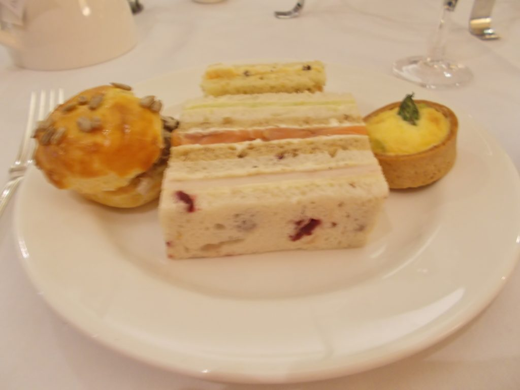 Savories Afternoon Tea Lancaster Hotel