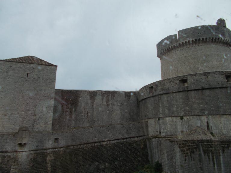 Very Rainy Day in Dubrovnik
