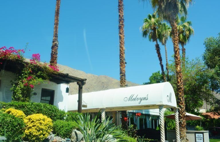 Famous Melvyn's Restaurant- Hangout of the Stars in Palm Springs