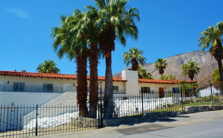 Elvis and Priscilla Presley's Home in Palm Springs