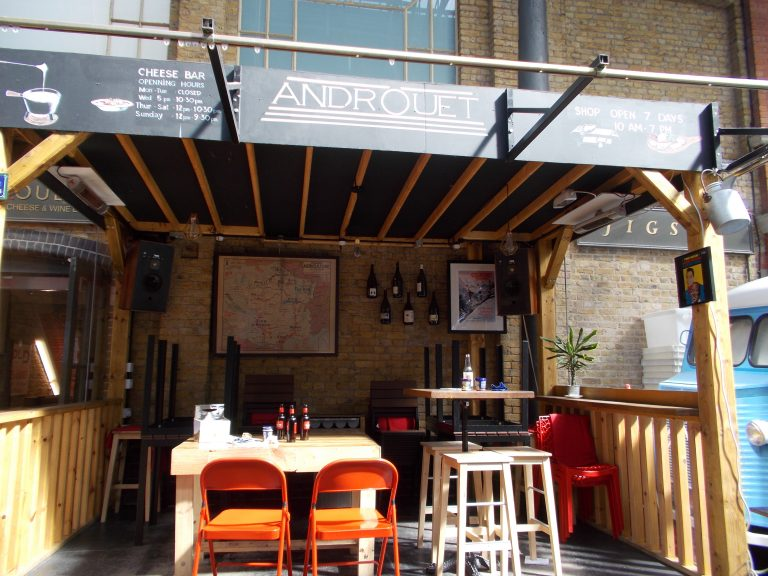 Androuet Bar Spitalfields London