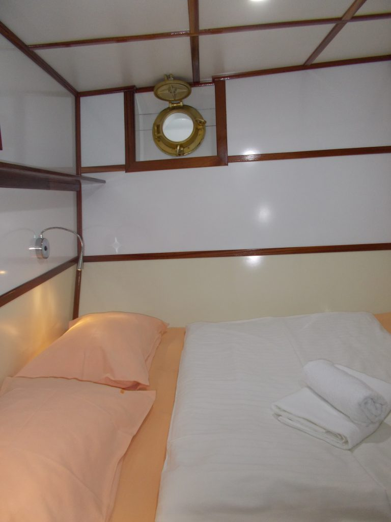 Cabin in Vapor -Croatia Small Ship Cruise