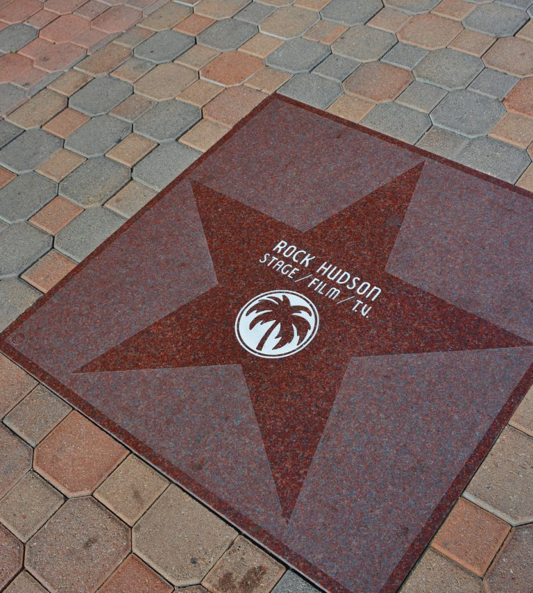 Palm Springs Walk of Stars Hollywood - Palms Springs Connection