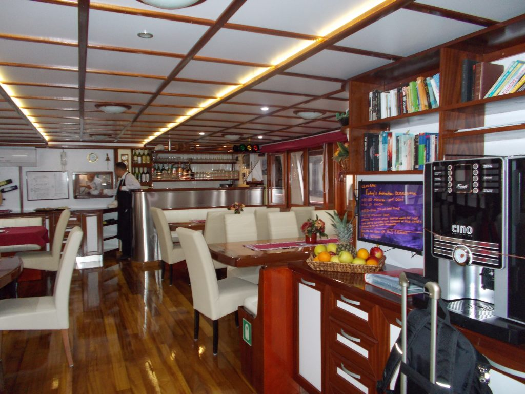 Dining Area - Croatia Small Ship Cruise