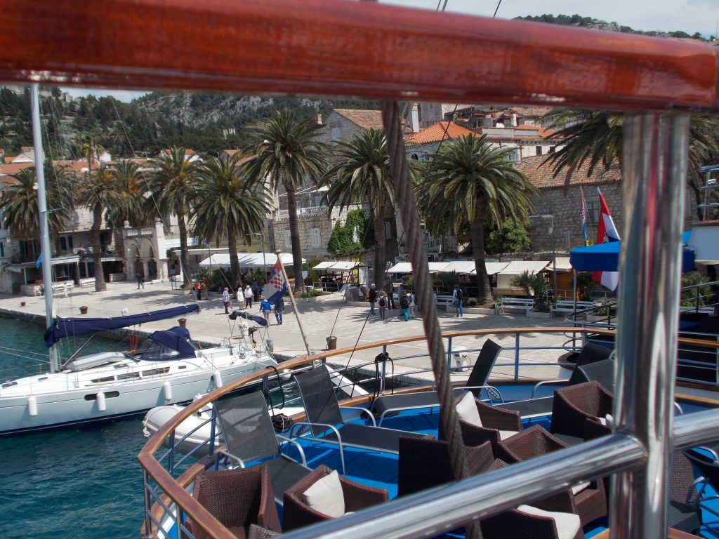 Docking in Hvar