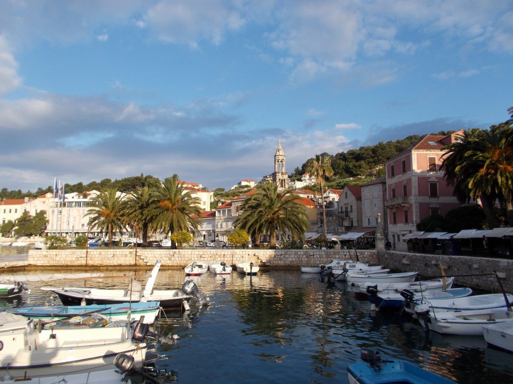 Early Morning in Hvar Croatia