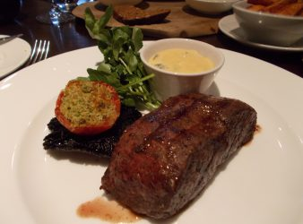 Flat Iron Steak with Bernaise Sauce Hunter 486