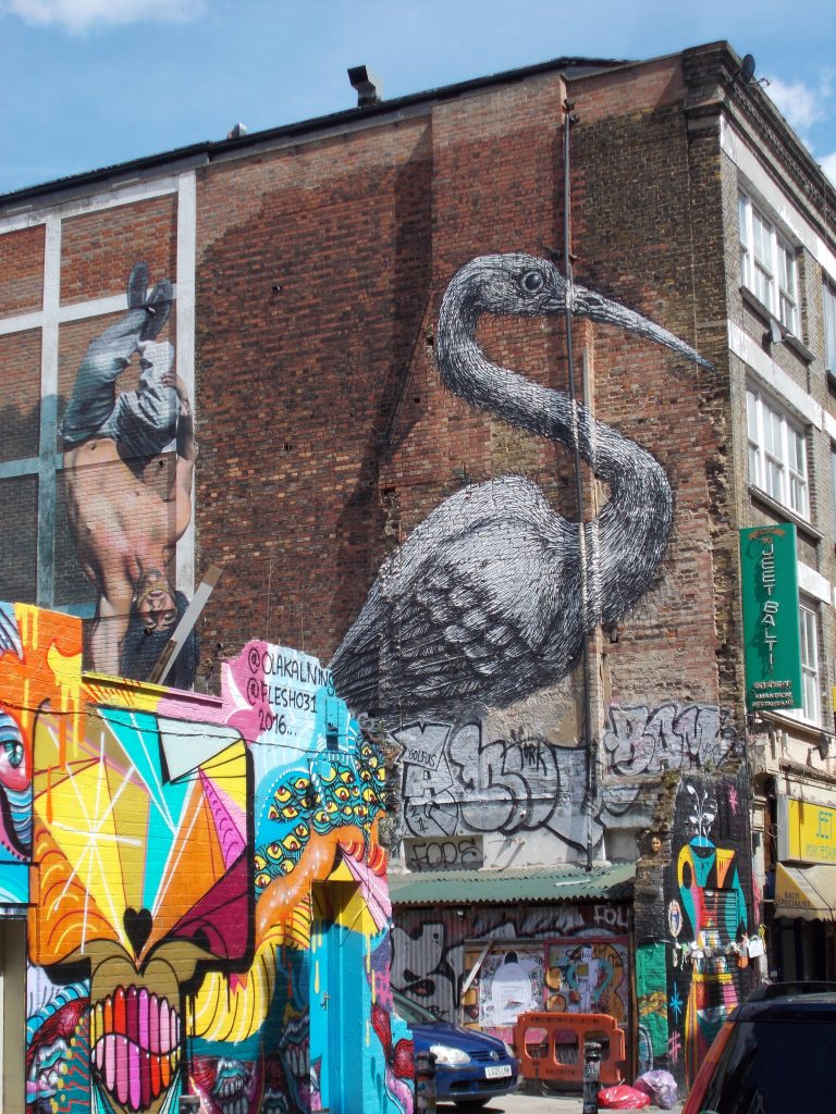 May be Roa - Street Art East End