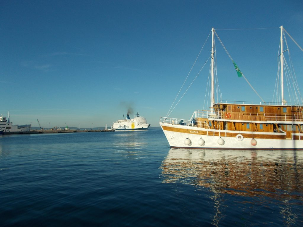 Sister Ship - Katarina Line in Split Croatia