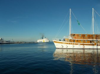 Katarina Line Ship in Split on Croatia Cruise