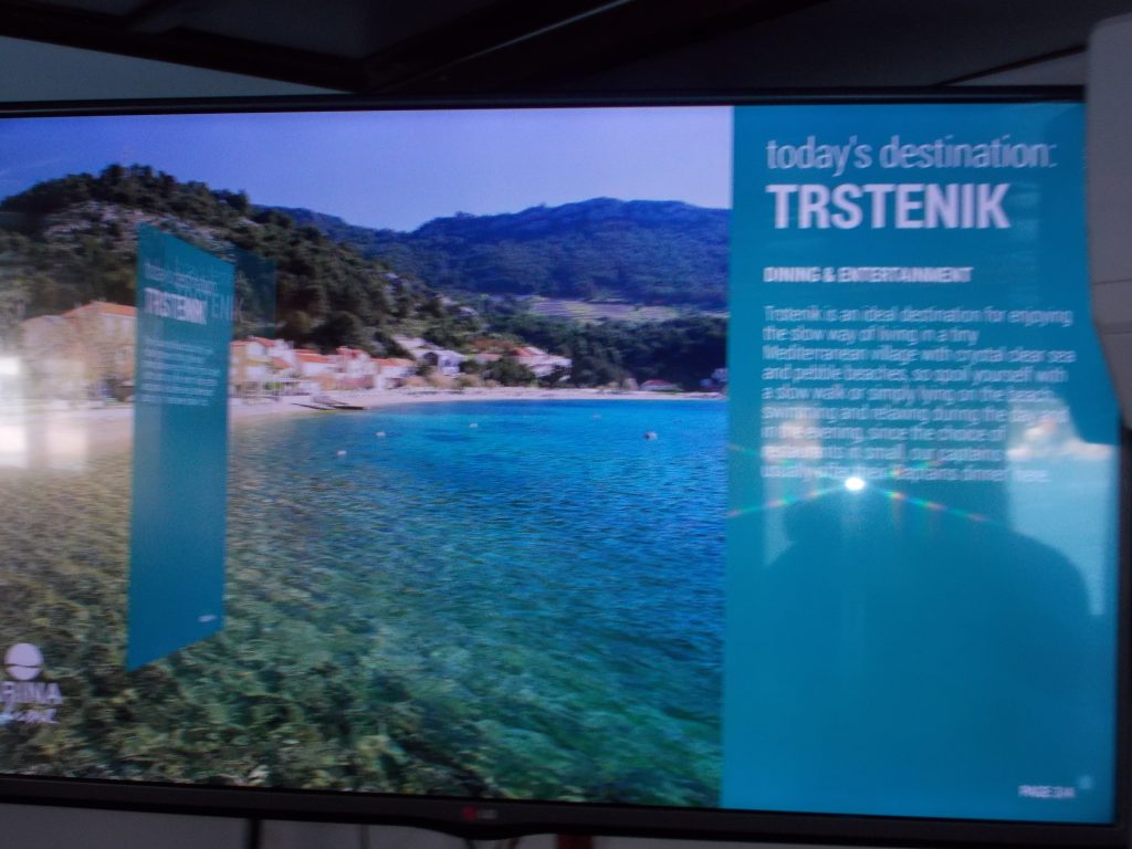 Slide Show with Information about our Next Stop - Katarina Line