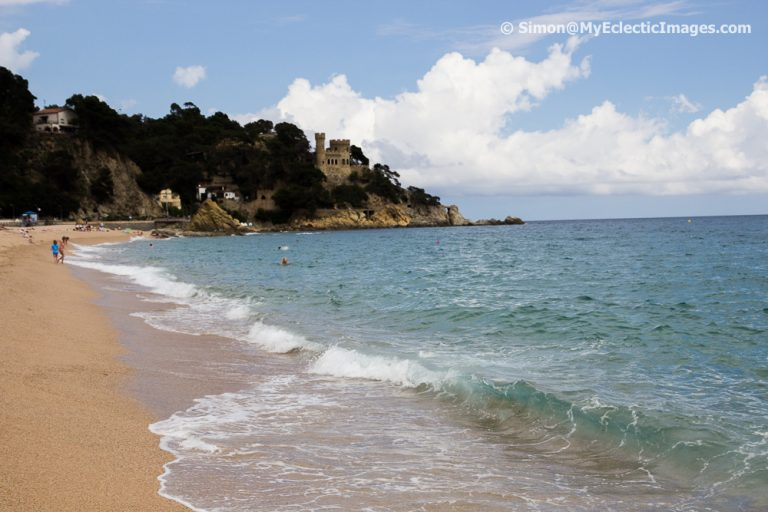 The Beach at Lloret de Mar