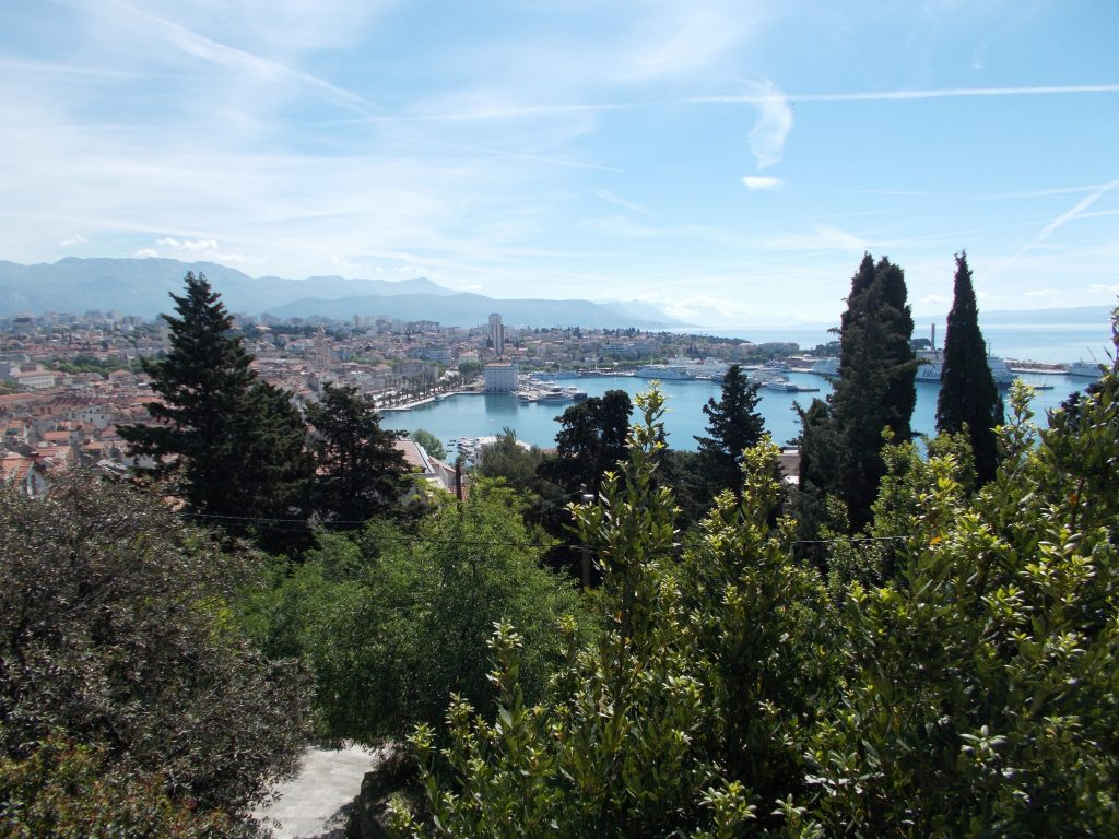 View from Marjan Forest - Split Croatia