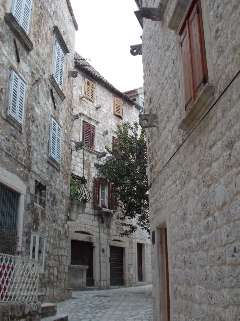 Winding streets of Hvar