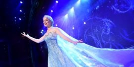 "The beloved animated hit ""Frozen"" is getting the Disney Cruise Line theatrical treatment as a full-length stage show exclusively aboard the Disney Wonder. In ""Frozen, A Musical Spectacular,"" the story will be presented like never before with an innovative combination of traditional theatrical techniques, modern technology and classic Disney whimsy."