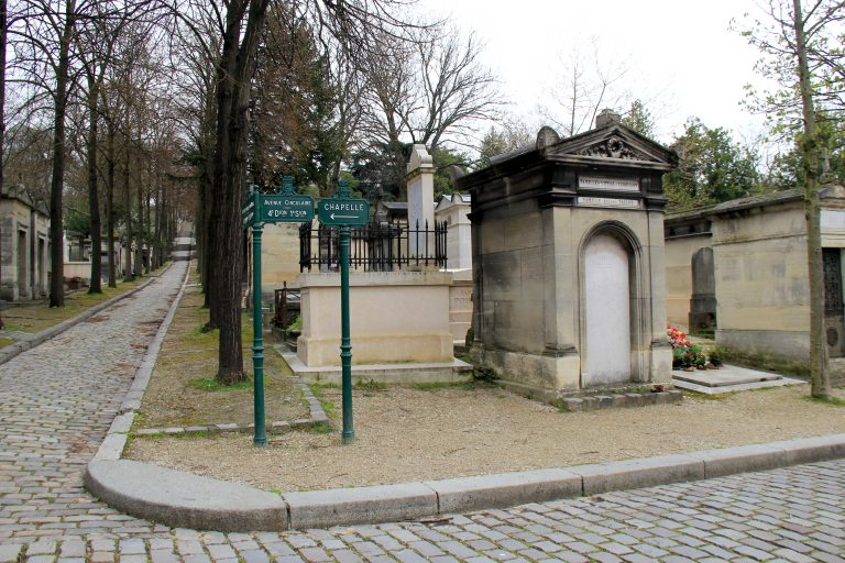 Directions Pere Lachaise Cemetery