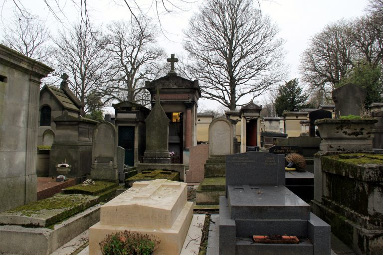 Pere Lachaise Cemetery Tombs