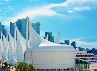 Famous Vancouver Sails at Vancouver Harbor - 48 hours in Vancouver