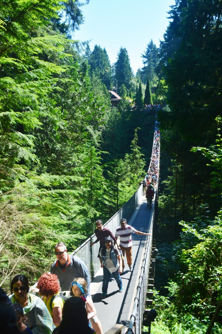 Capilano Suspension Bridge - Not to miss in Vancouver