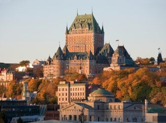 Château Frontenac in Autumn - Quebec City