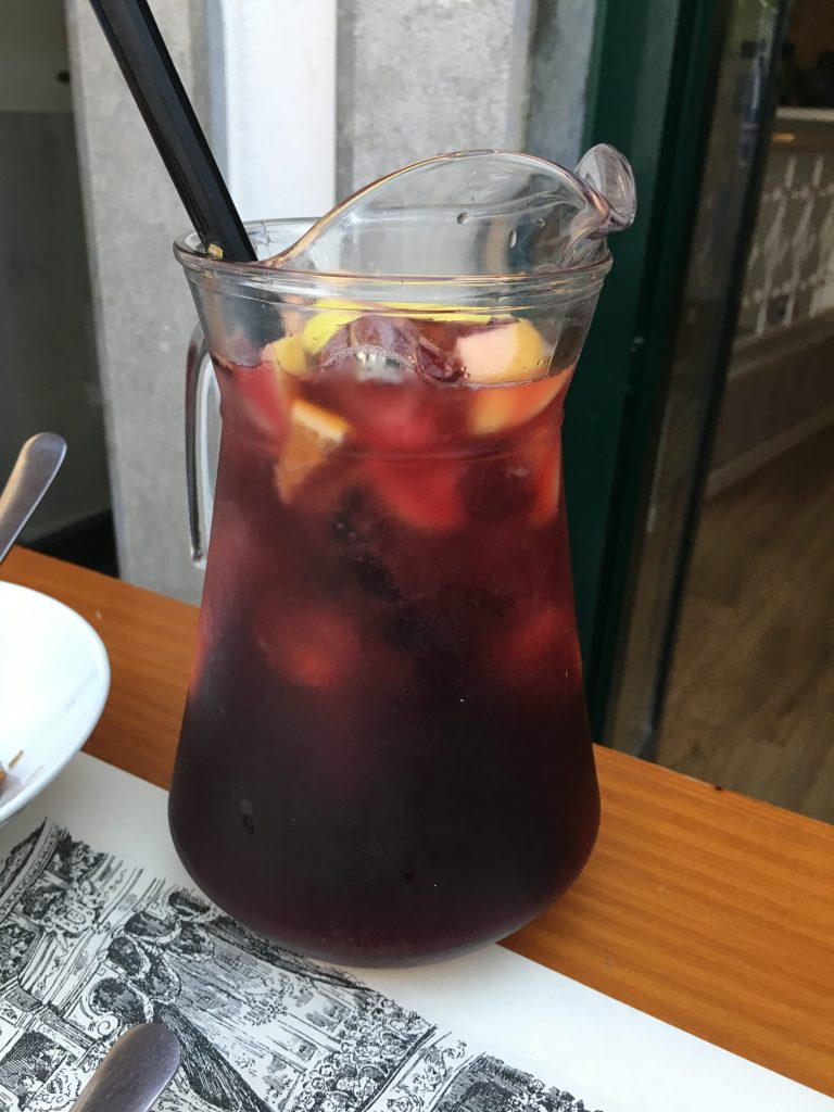 Sangria at Os Bordellos Cascais