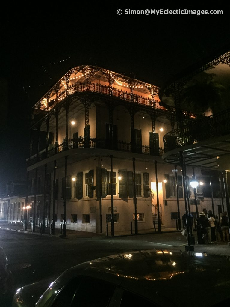 The LaLaurie Mansion in Haunted New Orleans