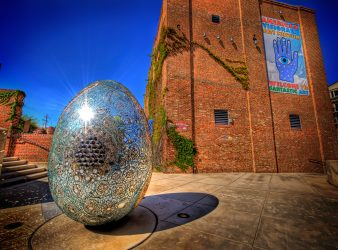 Egg Barn--Artist not given, Permanent Collection, photo by Jack Hoffberger. Photo Courtesy of the American Visionary Art Museum