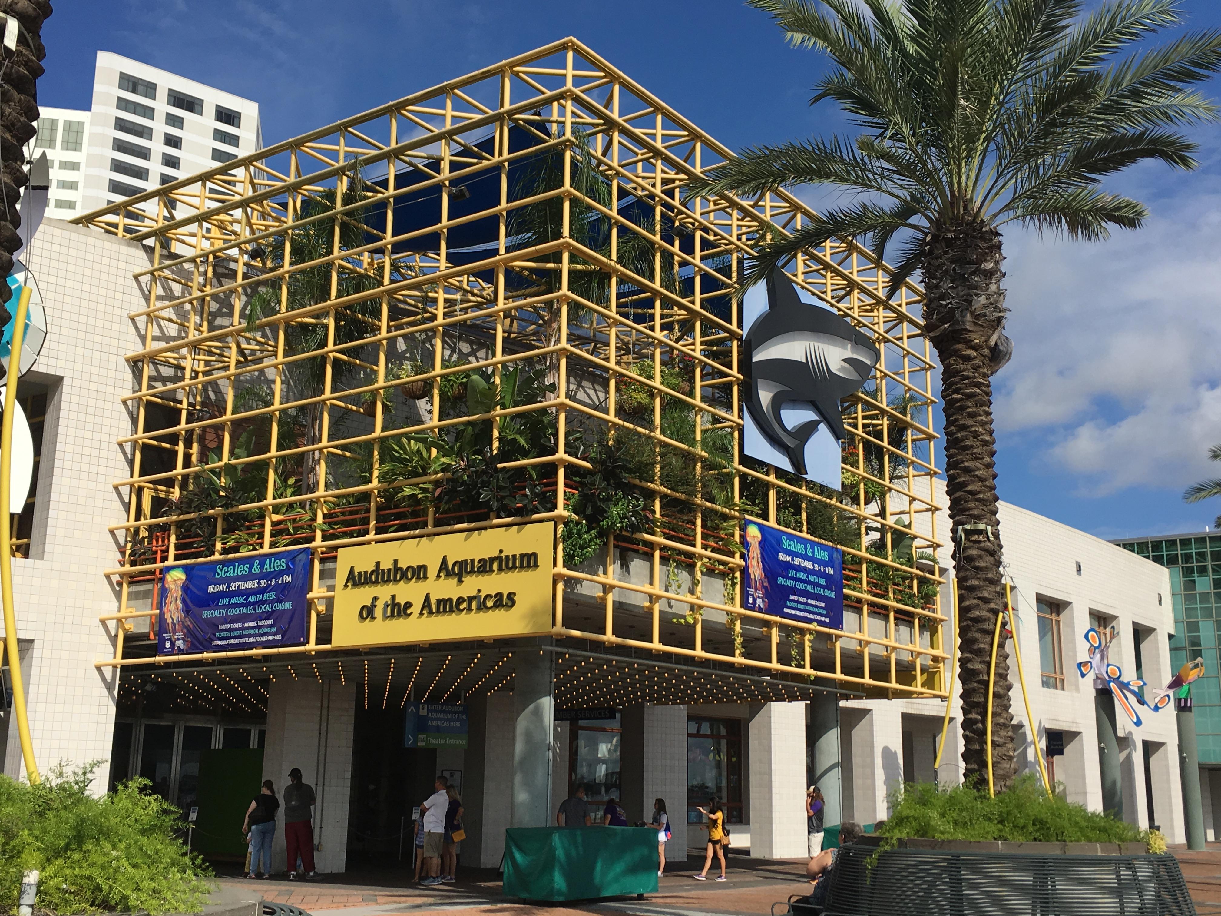 Audobon Aquarium Exterior